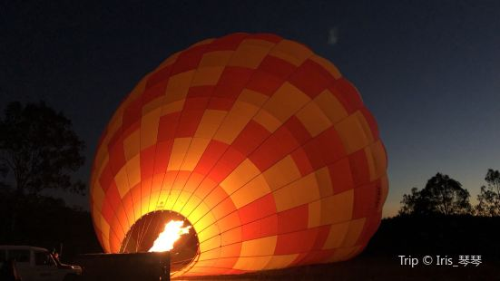Hotair Balloon Ride and O'Reilly's Vineyard Champagne Breakfast