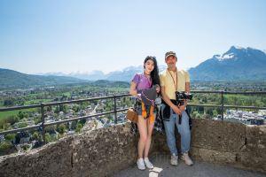 Salzburg,smelltheroses