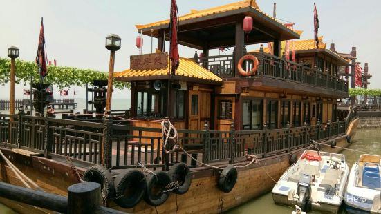 Sanjiangkou Taihu Aquatic Amusement Park in the Three Kingdom City