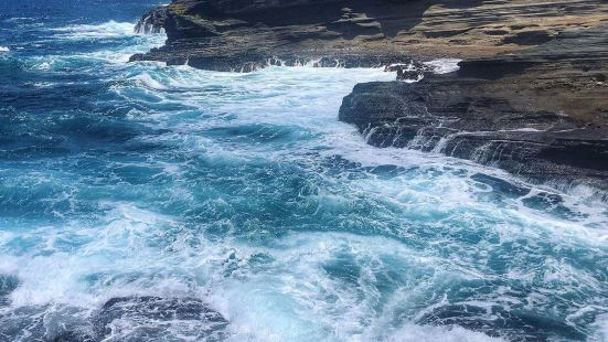 Spitting Cave of Portlock