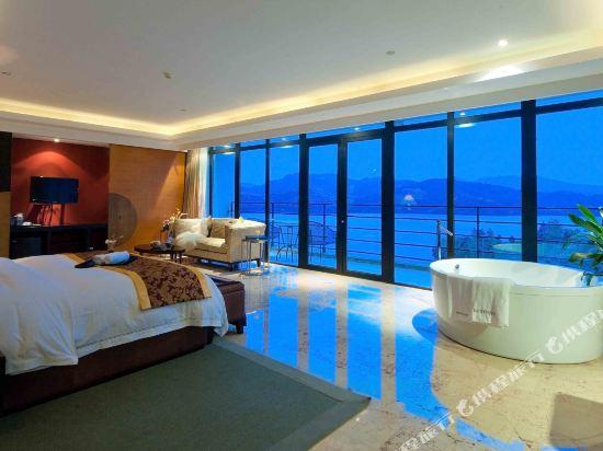 溧陽涵田度假村酒店(Hentique Resort & Spa)湖景套房