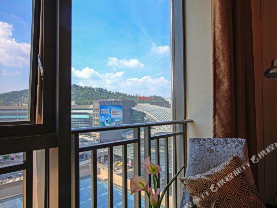 星倫保利中匯國際公寓(廣州火車東站店)(原倫凱保利國際公寓)眺望遠景