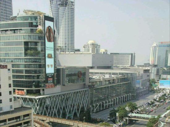 曼谷愛侶灣君悅酒店(Grand Hyatt Erawan Bangkok)眺望遠景