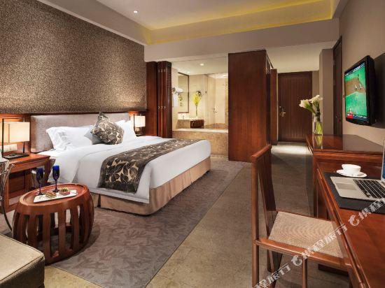 溧陽天目湖御水温泉度假酒店(Yu Shui Hot Spring Hotel)主樓豪華大床房