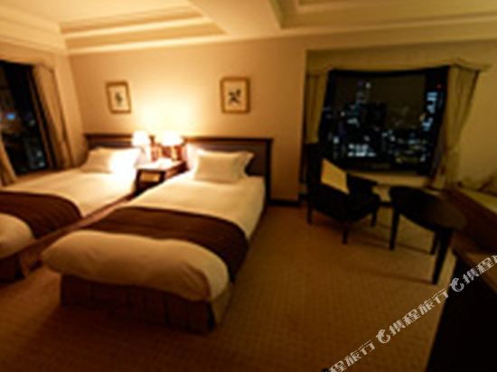 名古屋觀光酒店(Kanko Hotel Nagoya)豪華轉角雙床房