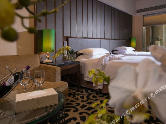 東莞曼佧特國際大酒店(Malachite Hotel)行政雙床房