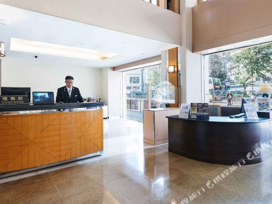 香港旺角維景酒店(Metropark Hotel Mongkok)公共區域