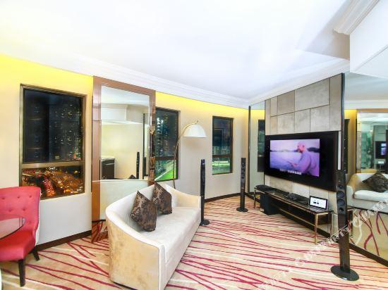 香港灣仔帝盛酒店(Dorsett Wanchai)套房