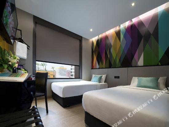 新加坡米閣大酒店(Hotel Mi Singapore)高級雙床房