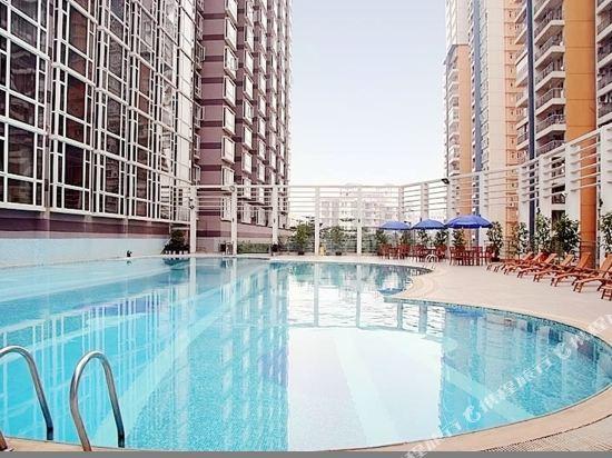 深圳百合酒店(Century Kingdom Hotel)室外游泳池