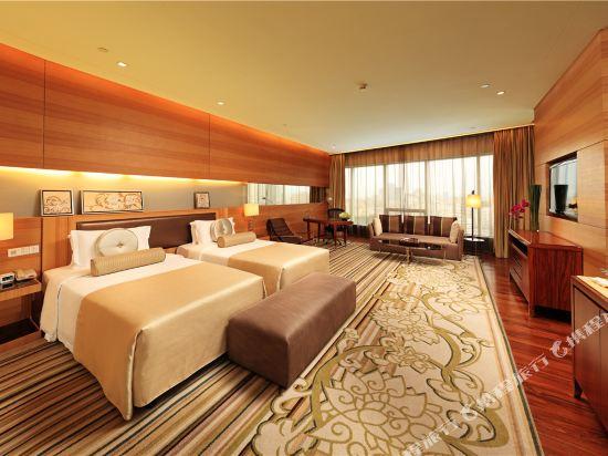 東莞厚街國際大酒店(HJ International Hotel)豪華雙床水療養生房