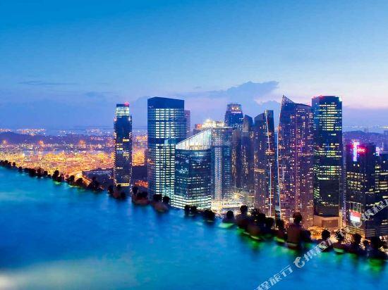 新加坡濱海灣金沙酒店(Marina Bay Sands)眺望遠景