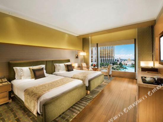澳門大倉酒店(Hotel Okura Macau)豪華房度假村景觀