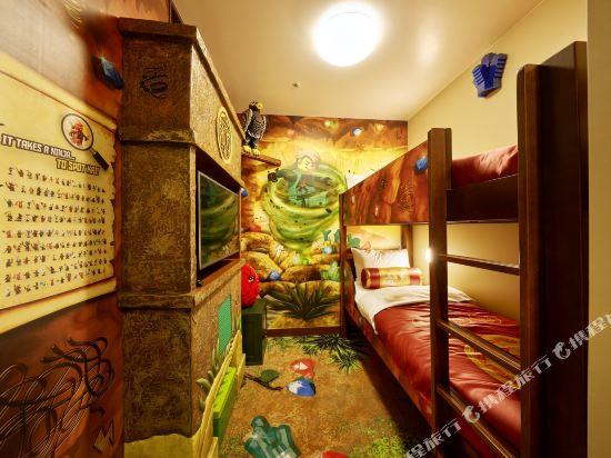 日本樂高樂園酒店(Legoland Japan Hotel)忍者主題房