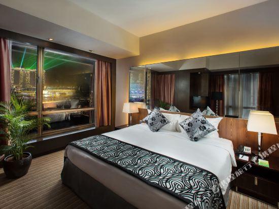 新加坡半島怡東酒店(Peninsula Excelsior Hotel Singapore)尊貴俱樂部海景房