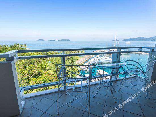 哥打京那巴魯絲綢太平洋酒店(The Pacific Sutera)眺望遠景