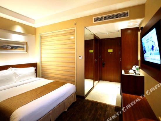 麥新格精品酒店(上海國際旅遊度假區浦東機場川沙店)(Maixin'ge Boutique Hotel (Shanghai International Tourism Resort Pudong Airport Chuansha))大床房