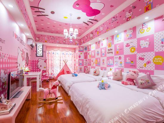 夢幻樂園親子主題公寓(廣州萬達廣場店)(Dreamland Family Theme Apartment (Guangzhou Wanda Plaza))公主主題親子雙床房