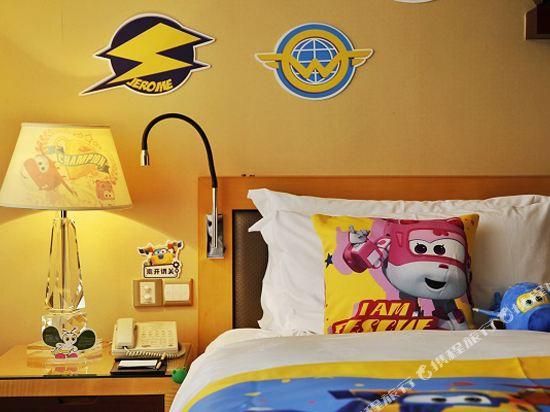 珠海來魅力假日酒店(Charming Holiday Hotel)超級飛俠海景雙床房