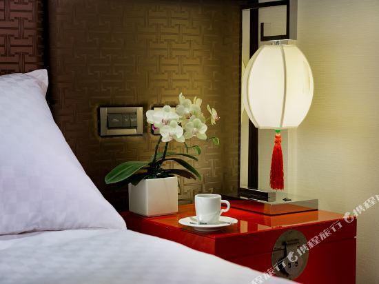 台北圓山大飯店(The Grand Hotel)精緻客房(無窗)