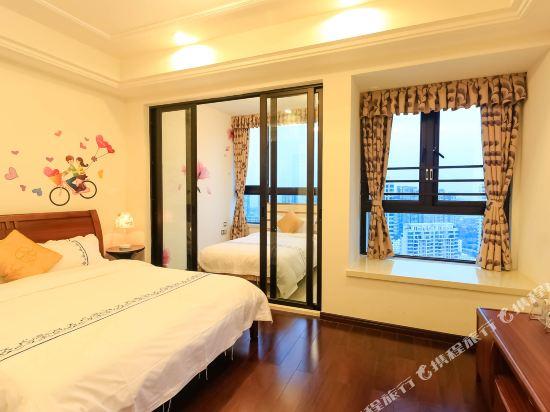 富米國際公寓(珠海華髮商都店)(Fumi Apartment Hotel (Zhuhai Huafa Mall))精品雙床房