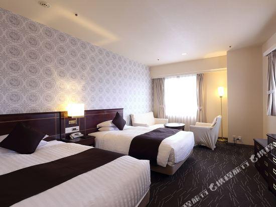 西鐵格蘭酒店(Nishitetsu Grand Hotel)角落雙床房