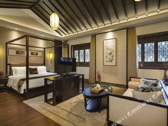 溧陽天目湖南山竹海客棧(御水温泉精品酒店)(Nanshan Zhuhai Inn)豪華套房