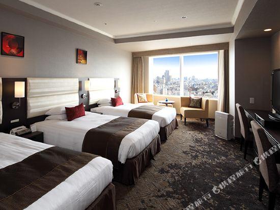 東京東急澀谷卓越大飯店(Shibuya Excel Hotel Tokyu Tokyo)卓越三人房