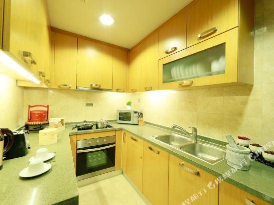 北京金融街行政公寓(Financier Executive Residence)三居室