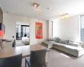 奧克蘭市中心酒店式公寓 - 免費WiFi,空調,海景