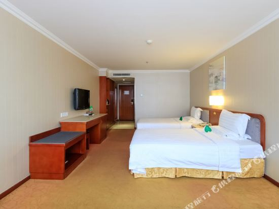 珠海L Hotel蓮花店高級雙人房
