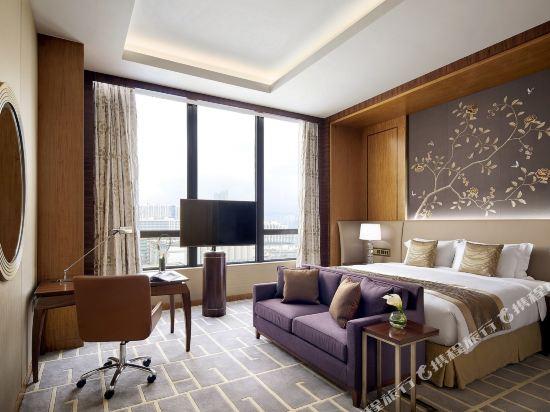香港帝苑酒店(The Royal Garden Hotel)天際半海景客房