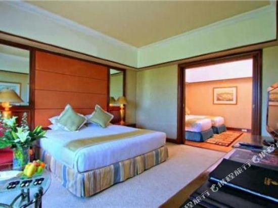 哥打京那巴魯絲綢太平洋酒店(The Pacific Sutera)家庭房