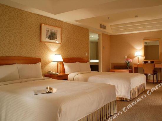 台北神旺大飯店(San Want Hotel)豪華4人房