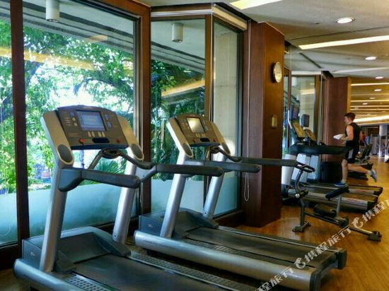 曼谷香格里拉酒店(Shangri-La Hotel Bangkok)健身房