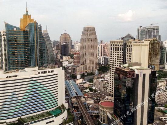 索菲特曼谷素坤逸酒店(Sofitel Bangkok Sukhumvit)眺望遠景