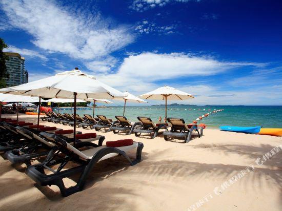 盛泰瀾幻影海灘度假村(Centara Grand Mirage Beach Resort Pattaya)私人海灘