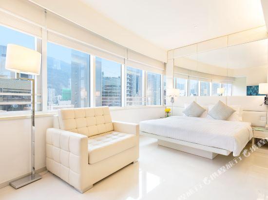 香港富薈灣仔酒店(iclub Wan Chai Hotel)商薈客房 Deluxe
