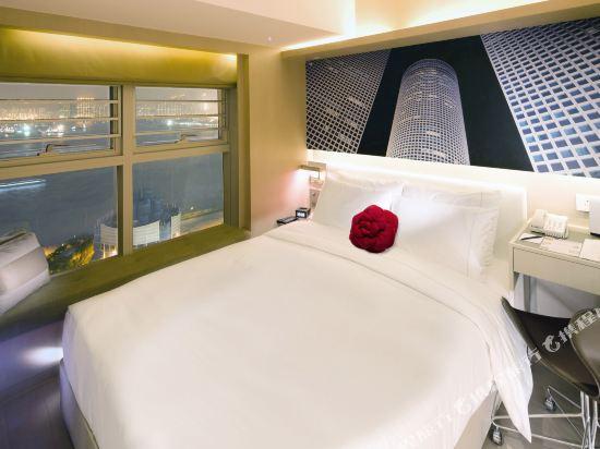 晉逸海景精品酒店上環(Butterfly on Waterfront Boutique Hotel Sheung Wan)豪華海景客房
