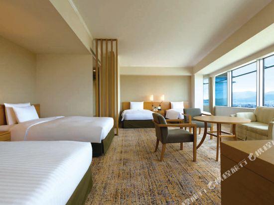 福岡海鷹希爾頓酒店(Hilton Fukuoka Sea Hawk)希爾頓豪華家庭房