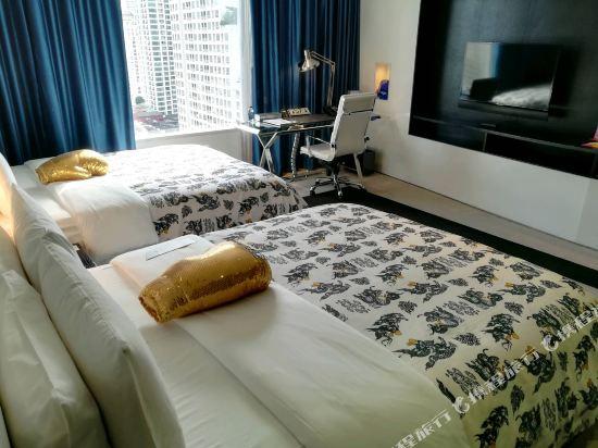 曼谷W酒店(W Bangkok Hotel)酷角客房