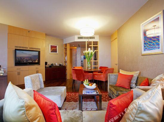 曼谷盛泰瀾中央世界商業中心酒店(Centara Grand at Centralworld)Executive suite living room