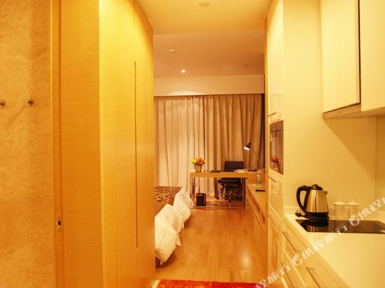 嘻哈商務公寓(廣州琶洲保利世貿店)(Hiphop Business Apartment (Guangzhou Pazhou Baoli Shimao))商務觀景雙床房