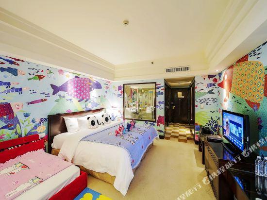 杭州開元名都大酒店(New Century Grand Hotel Hangzhou)奇趣海洋親子房