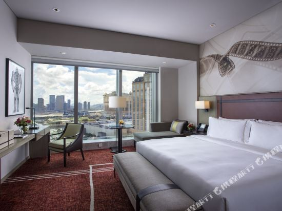 澳門新濠影匯酒店(Studio City Hotel)明星經典路氹景觀大床房