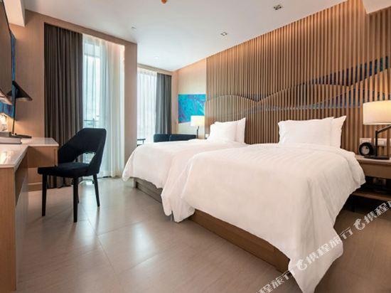 曼特海灘酒店(Mytt Beach Hotel)城市豪華雙床房