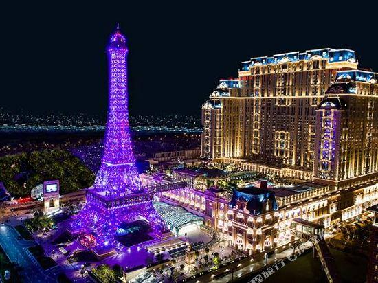 澳門巴黎人酒店(The Parisian Macao)眺望遠景