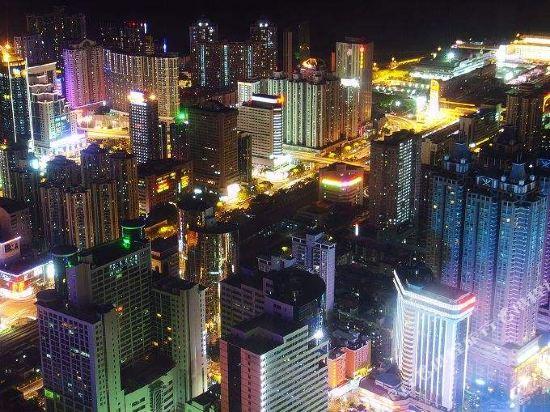 美豪酒店(深圳羅湖大劇院萬象城店)(Mehood Theater Hotel (Shenzhen Luohu Grand Theater The MIXC))眺望遠景