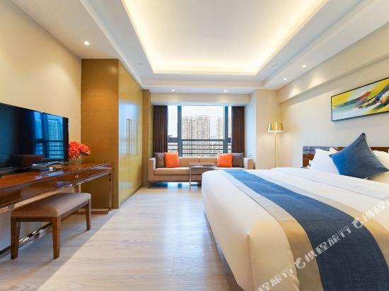珠海伯瑞灣濱江酒店公寓(Bo Rui Wan Binjiang Condo Hotel)豪華河景大床房
