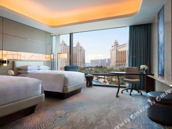 澳門JW萬豪酒店(JW Marriott Hotel Macau)至尊豪華雙床客房